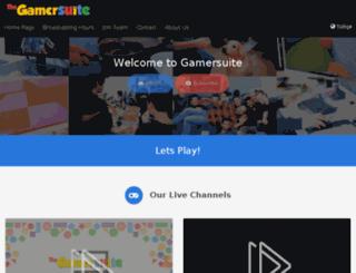gamersuite.tv screenshot