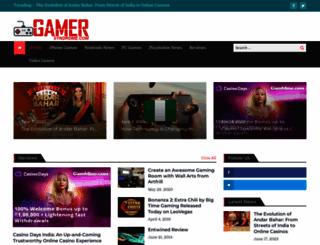 gamersyndrome.com screenshot