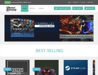 gamertopup.com screenshot
