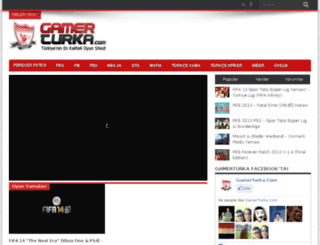 gamerturka.com screenshot