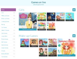 games-on-line.in screenshot