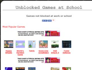 games-unblocked.com screenshot