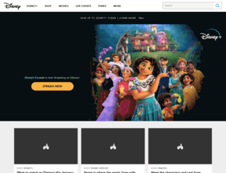 games.disney.com.au screenshot