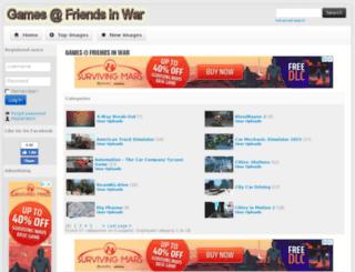 games.friendsinwar.com screenshot