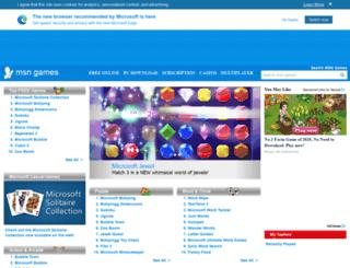 games.msn.com screenshot