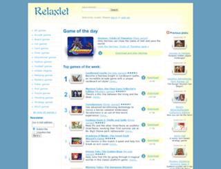 games.relaxlet.com screenshot
