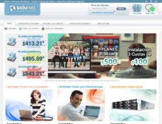 games.solunet.com.ar screenshot