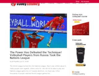 games.volleycountry.com screenshot