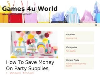 games4uworld.com screenshot