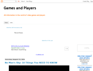 gamesandplayerss.blogspot.com screenshot