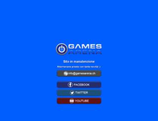 gamesarena.ch screenshot