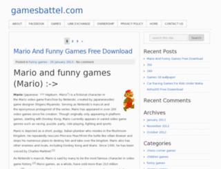 gamesbattel.com screenshot