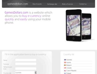 gamesdollars.com screenshot