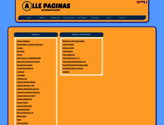 gameserver.allepaginas.nl screenshot