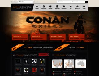 gameservers.com screenshot