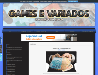gamesevariados.comunidades.net screenshot