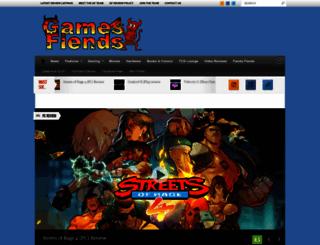 gamesfiends.com screenshot