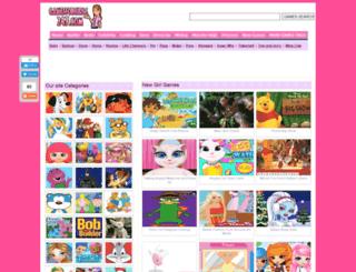 gamesforgirls247.com screenshot