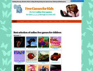 gamesforkidsfree.net screenshot