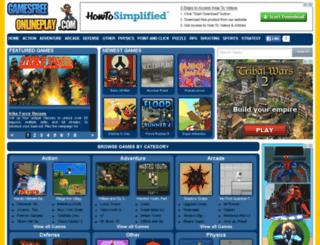 gamesfreeonlineplay.com screenshot