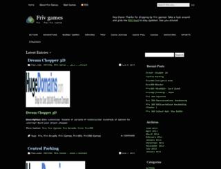 gamesfriv.wordpress.com screenshot