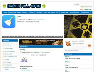 gamesfull4you.com screenshot