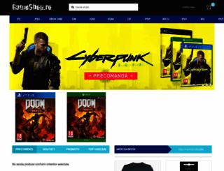 gameshop.ro screenshot