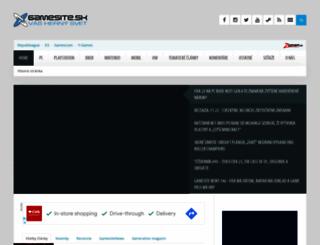 gamesite.sk screenshot
