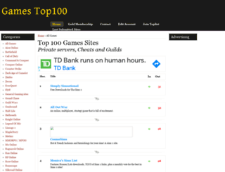 gamesites100.net screenshot