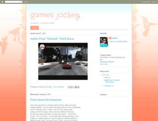 gamesjockey.blogspot.com screenshot