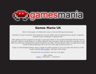 gamesmaniauk.net screenshot