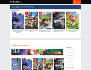gamesmega.net screenshot