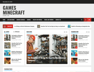 gamesminecraft.org screenshot