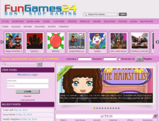 gamesminirelax.com screenshot