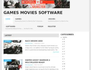 gamesmoviessoftware.com screenshot