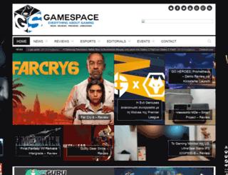 gamespace.gr screenshot