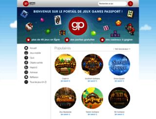 gamespassport.com screenshot