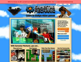 gamestarmechanic.com screenshot