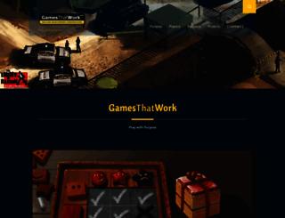 gamesthatwork.com screenshot