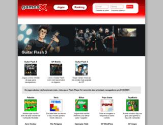 gamesx.com.br screenshot