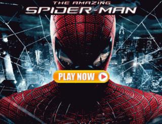 gametheamazingspiderman.com screenshot