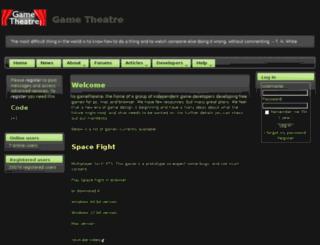 gametheatre.org screenshot