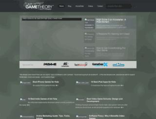 gametheoryonline.com screenshot