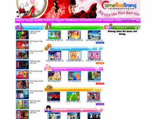gamethoitrang.com screenshot