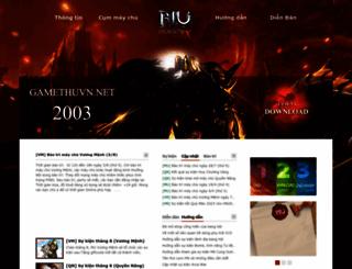 gamethuvn.net screenshot