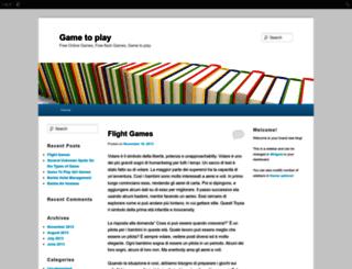 gametoplay.edublogs.org screenshot