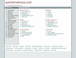 gametradeusa.com screenshot