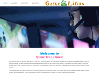 gametreelinux.com screenshot