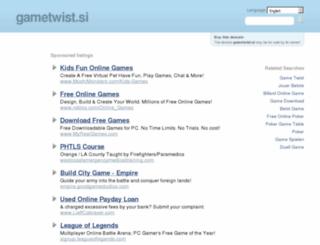 gametwist.si screenshot