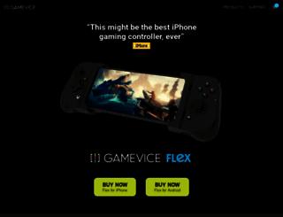 gamevice.com screenshot